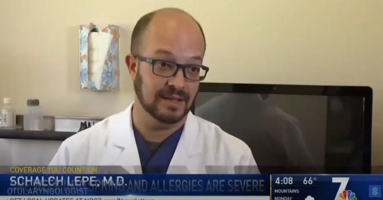video screenshot of Dr. Schalch Lepe talking