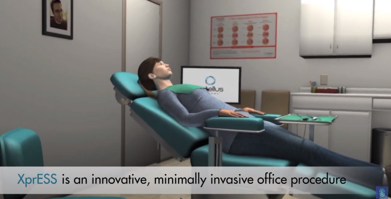 XprESS image of procedure in an office
