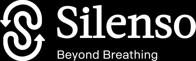 Silenso white logo
