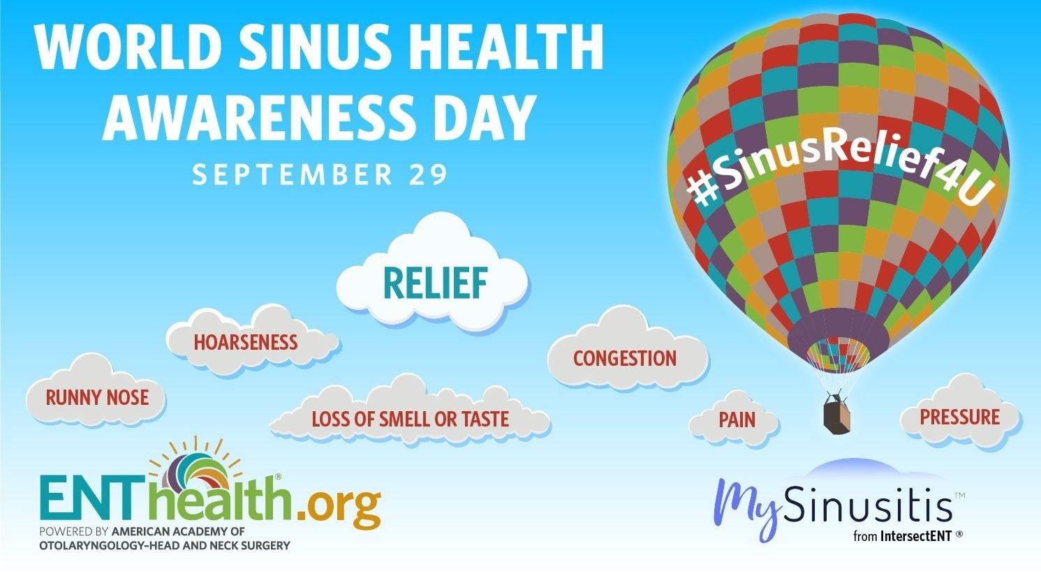World Sinus Health Awareness Day and Sleeptember